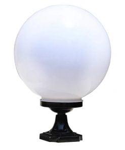 Đèn-trang-trí-trụ-cổng-tròn-trắng-Ø200