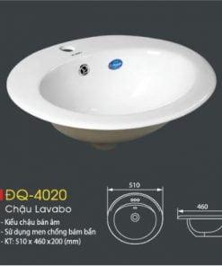 Chậu-Lavabo-ĐQ-4020