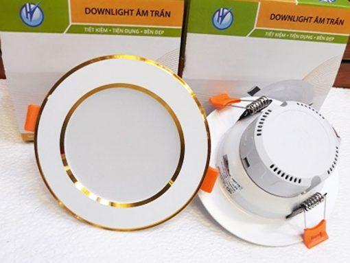 Dowlight-liền-tụ-viền-vàng-1104-7W-đơn-màu