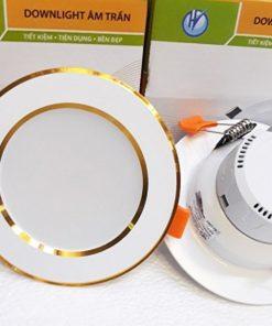 Dowlight-liền-tụ-viền-vàng-D12W-đơn-màu