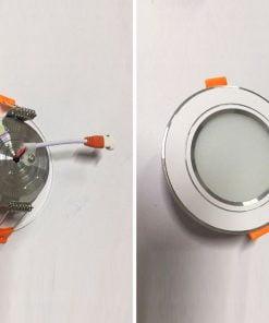 Downlight-đế-mũ-3-màu-viền-bạc-nhạt-7W