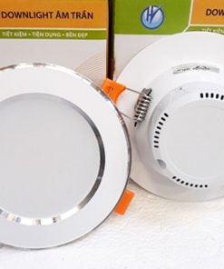 Downlight-liền-tụ-1104-9W-viền-bạc-3-màu
