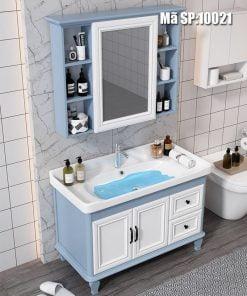 Tủ-chậu-LAVABO-G7-10021-trắng-xanh
