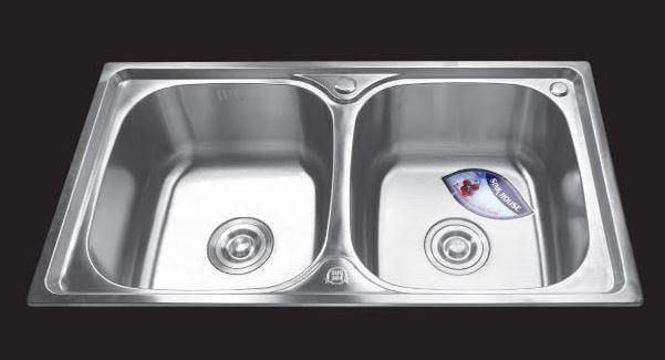 Chậu-rửa-bát-dập-2-hố-cân-SH-7843