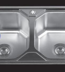 Chậu-rửa-bát-dập-2-hố-cân-SH-8246