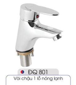 Vòi-1-lỗ-nóng-lạnh-đủ-bộ-xi-phông-014-ĐQ-801