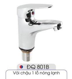 Vòi-1-lỗ-nóng-lạnh-đủ-bộ-xi-phông-014-ĐQ-801B
