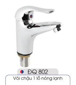 Vòi-1-lỗ-nóng-lạnh-đủ-bộ-xi-phông-014-ĐQ-802