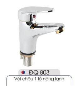 Vòi-1-lỗ-nóng-lạnh-đủ-bộ-xi-phông-014-ĐQ-803