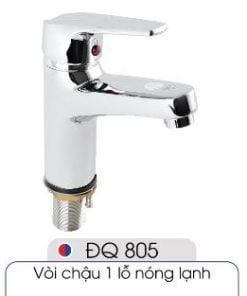 Vòi-1-lỗ-nóng-lạnh-đủ-bộ-xi-phông-014-ĐQ-805