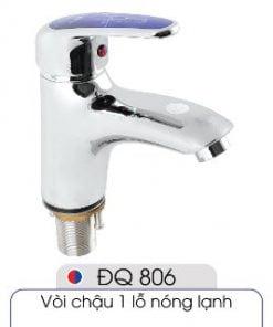 Vòi-1-lỗ-nóng-lạnh-đủ-bộ-xi-phông-016-ĐQ-806