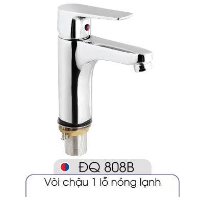 Vòi-1-lỗ-nóng-lạnh-đủ-bộ-xi-phông-016-ĐQ-808B